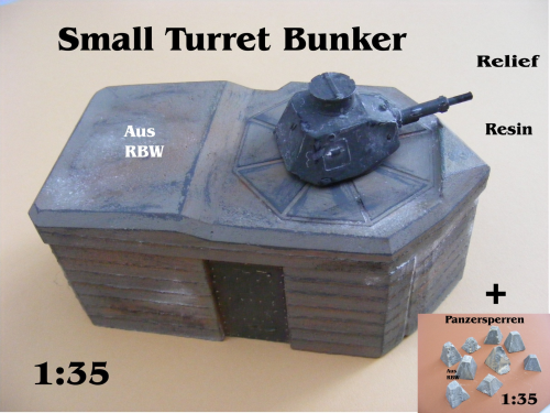 Small Turret Bunker Resin
