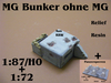 MG Bunker ohne MG Resin
