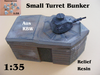 Bunker Small Turret Relief
