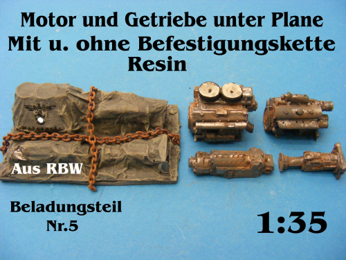 Beladungsteil 5 Resin 1:35