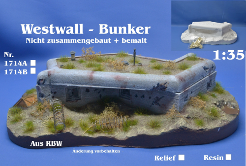 Westwall - Bunker 1:35